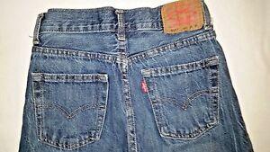 Levi's 514 Straight Boys Blue Denim Jeans Size 12