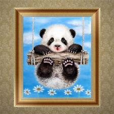 DIY 5D Diamant Broderie Peinture Panda Point de croix Artisanat maison mur Décor