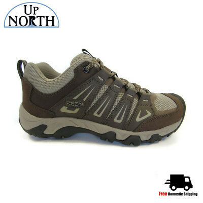 Keen Oakridge Mens Shoe Cascade Brindle Breathable w Arch Support Insoles