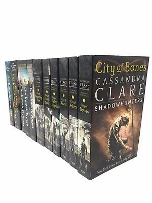 Cassandra Clare Mortal Instruments and Infernal Devices Collection 11 Books Set