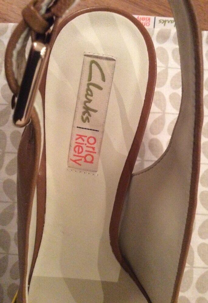 Orla in Kiely, Beatrice Schuhes in tan in Orla Größe 3.5, Vintage Style 392533