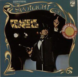 FRANKIE-VAUGHAN-Spotlight-On-UK-DOUBLE-VINYL-LP-EXCELLENT-CONDITION