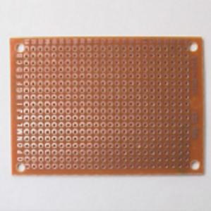 5Pcs Brown 2.54mm Pitch PCB Prototype Veroboard 50mmx70mm