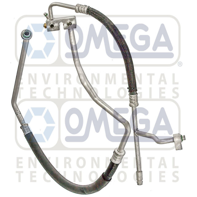A/C Suction & Discharge Manifold Line: 01 - 04 Ford Ranger - Mazda B4000 V6  4 0L