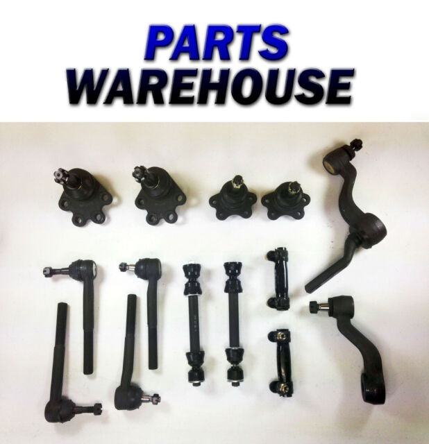 14 Pc New Tie Rod Ball Joint Sway Bar Link Set - Gmc/Chevy K1500 K2500 1 Yr Wrty