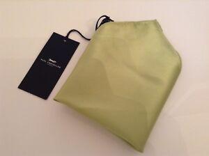 150f4864f1 Mens Luxury 100% SILK Green Handkerchief BNWT 100% Auth Paul Castelloe  Taschentücher
