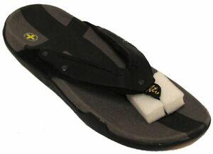 Dr-Martens-Men-039-s-Thong-Sandal-Black-Grey-US-9-NOB