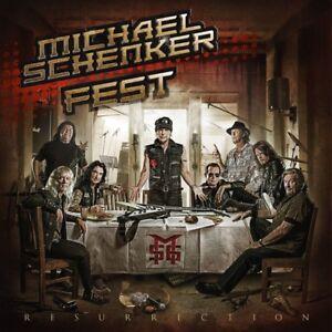 Michael-Fest-Schenker-Resurrection-New-CD-UK-Import