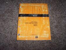 John Deere JD 444D 544D 644D Loader Shop Service Repair Technical Manual TM1341
