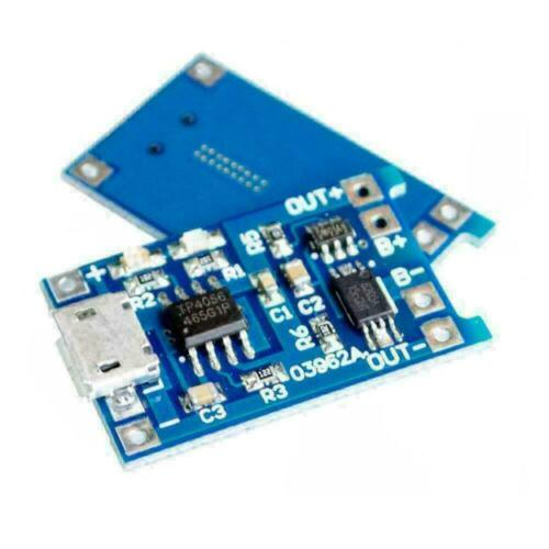 1PC 5V Micro USB 1A 18650 Lithium Battery Charging Charger Module P6J6 B9I5