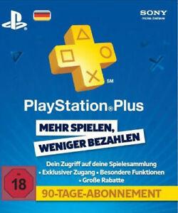 Playstation Karte.Sony Playstation Plus 90 Tage Abonnement Karte