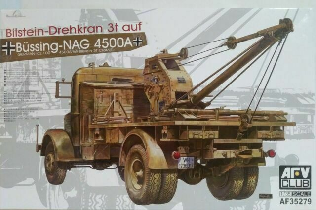 German 3 ton Crane 1//35 WWII