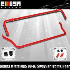 Mazda Miata MX5 90-97 ANTI ROLL SWAY STABILIZER BAR Front & Rear