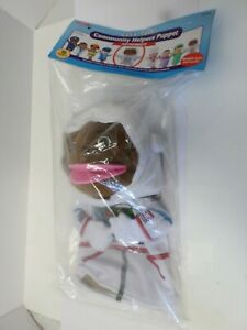Lakeshore-Community-Helpers-Puppet-Astronaut-Preschool-toy-Age-18-Month-New