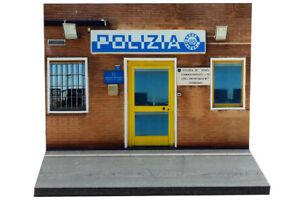Diorama-Commissariato-di-Polizia-1-43eme-43-2-A-A-101