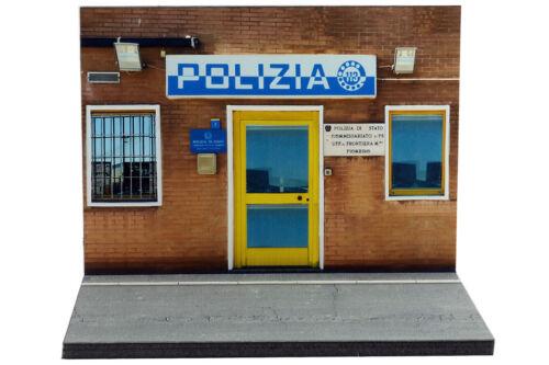 Diorama Commissariato di Polizia - 1/43ème - #43-2-A-A-101