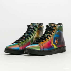 Converse Pro Leather Hi Men Lifestyle Sneakers New Black ...