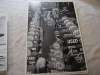 Chevrolet Ok Used Car Sign Assembly Line 12 X 18 Photo Picture