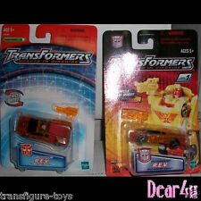 Transformers Robots In Disguise R.i.D - Spychanger R.E.V. x 2 version MINT