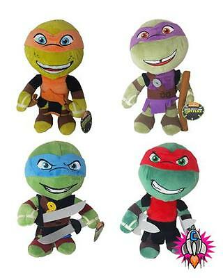 Teenage mutant neuf samurai ninja turtles peluche jouet doux leonardo raphael