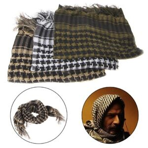 Military-Tactical-Keffiyeh-Arab-Scarf-Hunting-Cycling-Head-Shawl-Wrap-Army-Camo