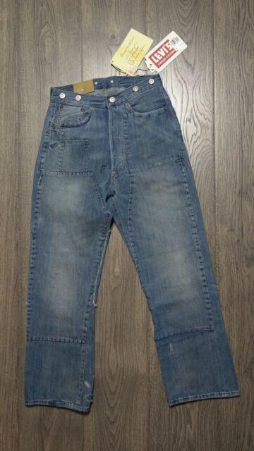 da3b5e72 Levi's Vintage Clothing LVC 1890 501 XX Cone Denim Selvedge Jeans Cinchback  $395