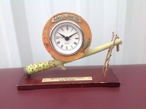 There S Always Time For Fishing Tabletop Clock House Of Lloyd Ebay