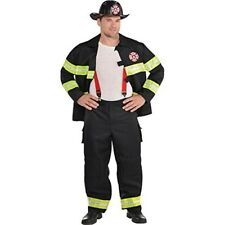 Adults Mens Rescue Me Firefighter Fancy Dress Costume Xlarge Size