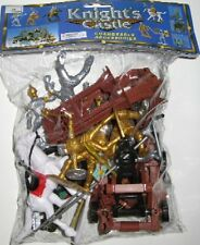 Plastic Medieval Plastic Knights And Armor Set No. 24 New In Bag!