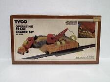 VINTAGE HO SCALE TYCO OPERATING CRANE LOADER SET NOS IN SEALED BOX
