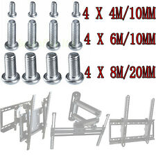 M4 M6 M8 VESA Bracket Screw / Bolts for Samsung Sony LG LCD LED TV Wall Mounting