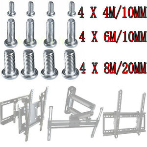 M4 m6 m8 vesa bracket screw bolts for samsung sony lg - Soporte tv samsung ...