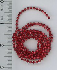 Dollhouse Miniature 1:12 Red Bead Garland
