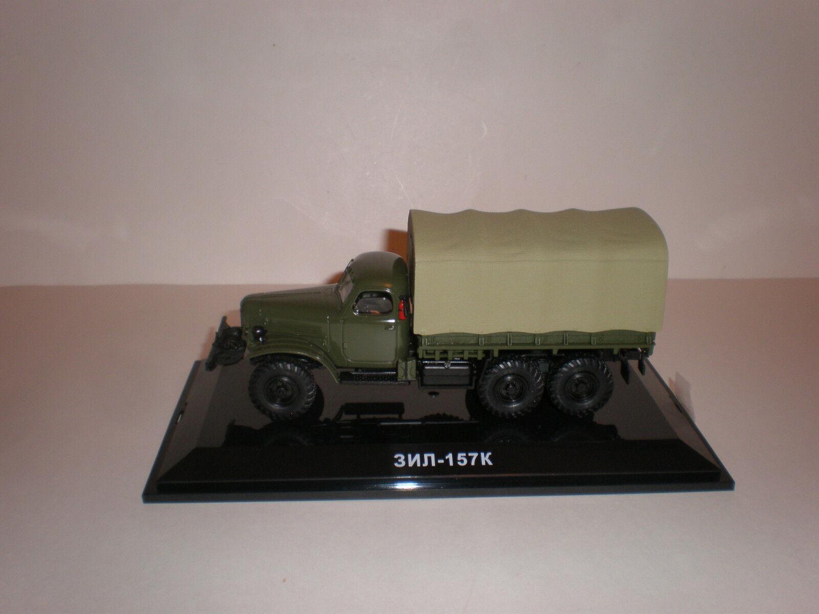 1/43 Militar Ruso Camión Zis 157k W. Carga Plataforma Dip Modelos 115701