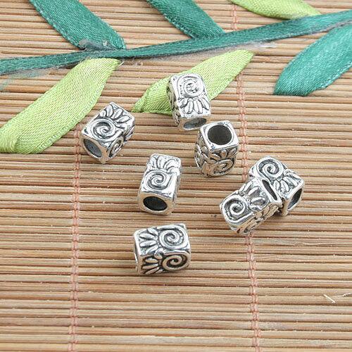 16pcs Tibetan silver owl design spacer beads h0809