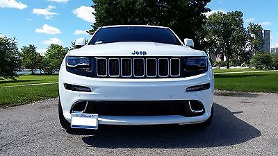 2012-2016 Jeep Grand Cherokee SRT Removable Front License Plate Bracket