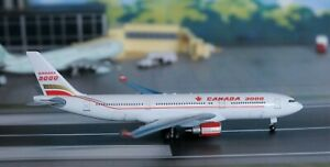 1:400 Scale Dragon Wings CANADA 3000 Airbus A.330-201, stand included