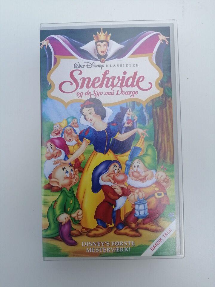 Børnefilm, Snehvide og de 7 små dværge., instruktør Walt