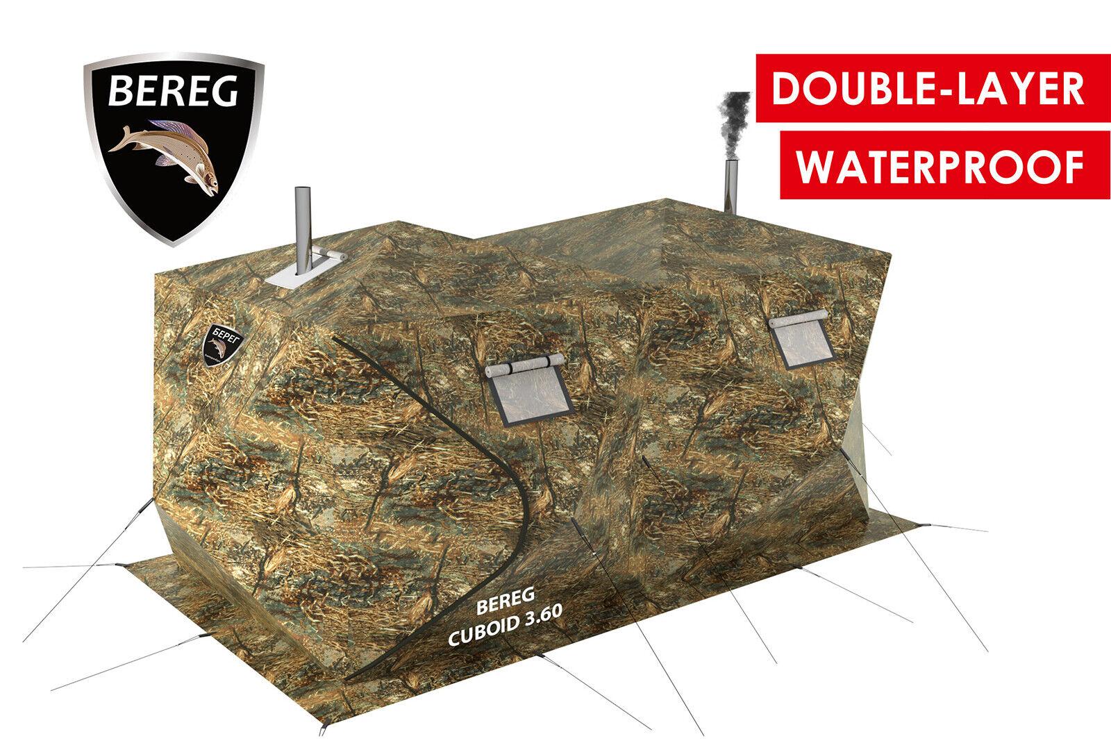 Todas las estaciones de doble capa impermeable a prueba de viento Cochepa Cuboide 3.60 de PF Bereg