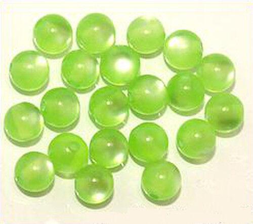 20 Polar-perles environ 8 mm #02 Maigrün