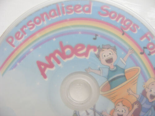 Children/'s Personalised CD/'s Letters A-D