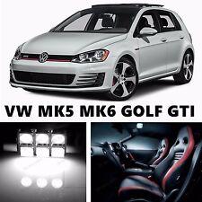 14pcs LED Xenon White Light Interior Package Kit for VOLKSWAGEN MK5 MK6 GOLF GTI