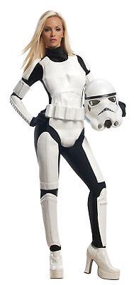 Stormtrooper Female Costume Adult Star Wars White Rubies Licensed Force Awakens