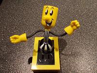 Reddy Kilowatt Electric Utility Willie Wiredhand Wirehand Bendable Plug Man