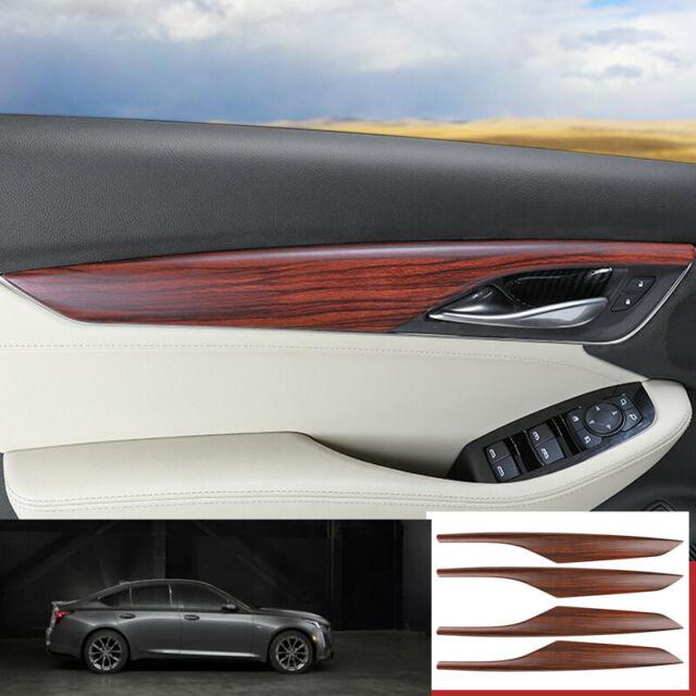 For Cadillac Ct5 2019-2020 Peach Wood Grain Inner Door