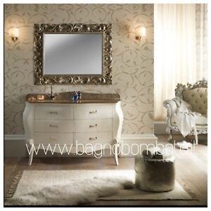 Mobili Da Bagno Classico Moderno.Mobile Bagno Classico Barocco Bombato Moderno Cristallo Ebay