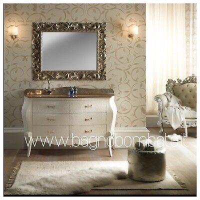 mobile bagno Classico Barocco Bombato Moderno Cristallo   eBay