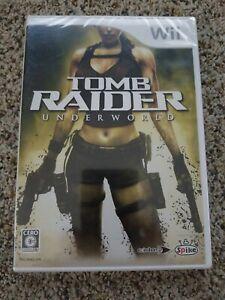 Tomb Raider Underworld Wii Japanese 4940261509590 Ebay