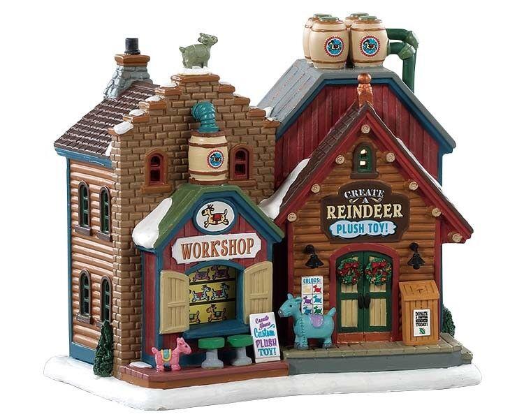 LEMAX Create A Reindeer     Weihnachtsdorf Winterdorf Modellbau Porzellanhaus 4bcd89
