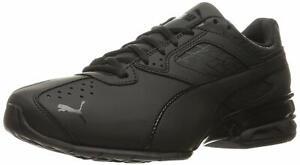 Da-Uomo-Puma-Tazon-6-frattura-FM-Sneaker-basse-lacci-moda-Puma-Black-Taglia-8-5-201w
